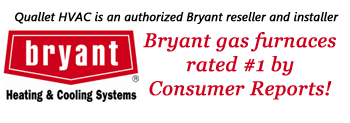 Bryant Gas Furnaces Rated #1 by Comsumer Reports.