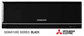 Mitsubishi Signature Black Split Ductless System