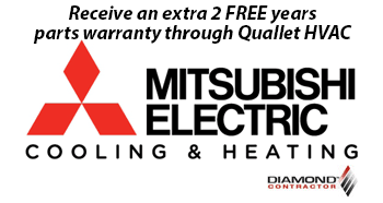 Mitsubishi Electric Heating and Cooling Diamond Contractor